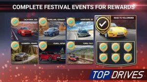 Top drives Mod Apk 2021 Unlimited Money and Cars Latest Version 4